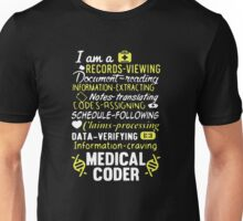 Medical Coder T-shirt Unisex T-Shirt