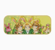 Legend of Zelda: Bunny Hoods One Piece - Short Sleeve