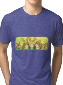 Legend of Zelda: Bunny Hoods Tri-blend T-Shirt