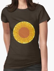 Cute Vintage Yellow Sunflowers T-Shirt