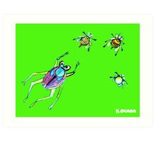 insect whisper Art Print