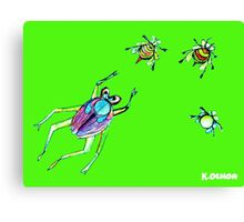 insect whisper Canvas Print