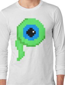 Jacksepticeye Logo - Septic Sam 8bit Long Sleeve T-Shirt