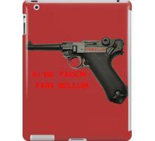 Si vis pacem para bellum iPad Case/Skin