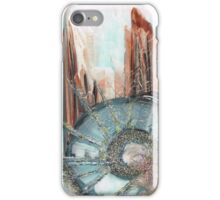 Worlds connecting iPhone Case/Skin