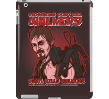 Walker Killer iPad Case/Skin