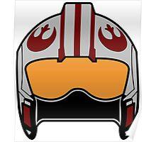 X-Wing Helmet Poster