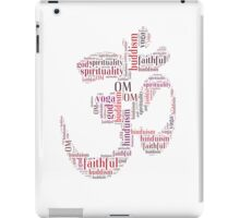 Om words symbol iPad Case/Skin