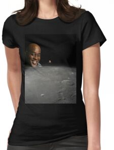 Ainsley Harriott Moon vol.2 Womens Fitted T-Shirt