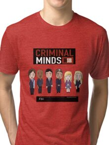 Criminal minds BAU Unsub Tri-blend T-Shirt