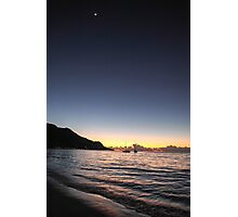 Sunset in Mahe, Seychelles Photographic Print