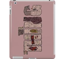 The thing lettering iPad Case/Skin