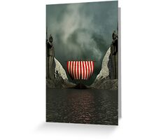 Valley Of Kings Greeting Card