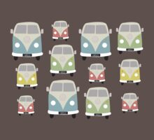 VW Campers One Piece - Short Sleeve
