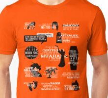 Dragon Age - Hawke Quotes Unisex T-Shirt