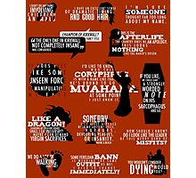 Dragon Age - Hawke Quotes Photographic Print