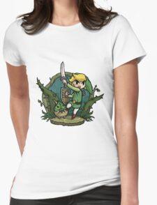 Zelda Attack... Womens Fitted T-Shirt