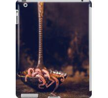 Octopus in ladle iPad Case/Skin