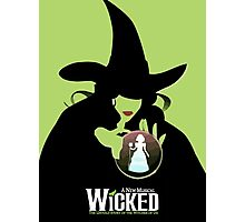 Wicked Broadway Musical Wizard Of Oz T-Shirt Photographic Print