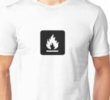 Caution: Combustible Unisex T-Shirt