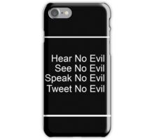 4 Wise Monkeys iPhone Case/Skin