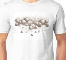 Spheres, Balls, Bowls, and one Cube Unisex T-Shirt