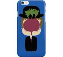DWIGHT MAGRITTE SCHRUTE iPhone Case/Skin