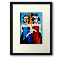 Dancing with ourselves Framed Print