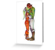 Kanera Kiss Greeting Card