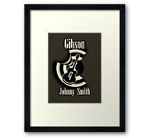 Gibson Johnny Smith Framed Print