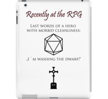 Recently at the RPG iPad Case/Skin