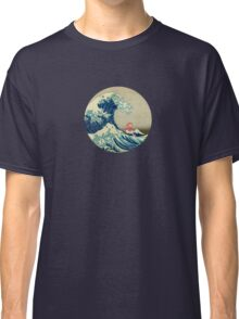Ponyo and The Great Wave off Kanagawa VINTAGE Classic T-Shirt