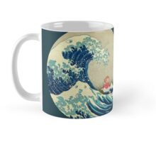 Ponyo and The Great Wave off Kanagawa VINTAGE Mug