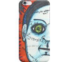 Eye Robot iPhone Case/Skin