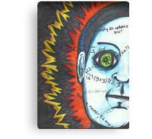 Eye Robot Canvas Print