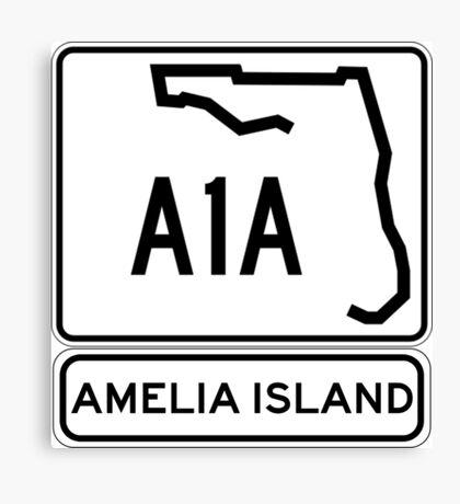 A1A - Amelia Island, Florida - Sun and Fun! Canvas Print