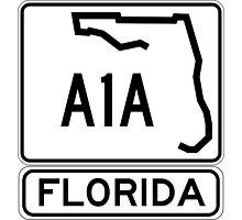 A1A - Florida - Sun and Fun! Photographic Print