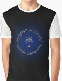 ♥♥♥ LORD OF THE RINGS INSCRIPTION TREE OF GONDOR ♥♥♥ Graphic T-Shirt