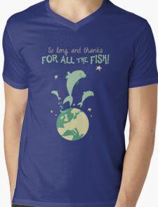 Thanks for the fish! Mens V-Neck T-Shirt