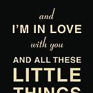 One Direction - Little Things - Lyrics by 4ogo Design