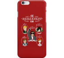 Saturday's Breakfast club iPhone Case/Skin