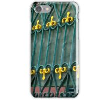 Wrought Iron With Panache iPhone Case/Skin