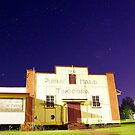 The Tingoora Hall at night by Penny Kittel