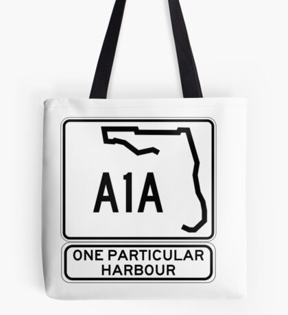 There's this one particular harbour... Tote Bag