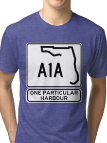 There's this one particular harbour... Tri-blend T-Shirt