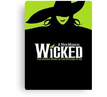 Wicked Broadway Musical - Untold Story about Wizard Of Oz - T-Shirt Canvas Print