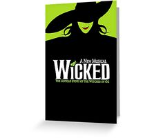 Wicked Broadway Musical - Untold Story about Wizard Of Oz - T-Shirt Greeting Card