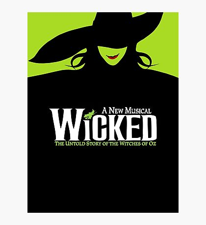 Wicked Broadway Musical - Untold Story about Wizard Of Oz - T-Shirt Photographic Print