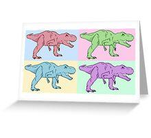 Dino T-REX Greeting Card