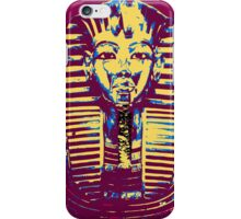 5- Colored King Tut Mask iPhone Case/Skin